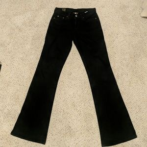 Like new- Lucky Brand Black Jeans